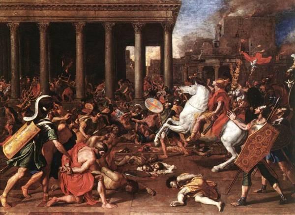 Destruction of temple EUR
